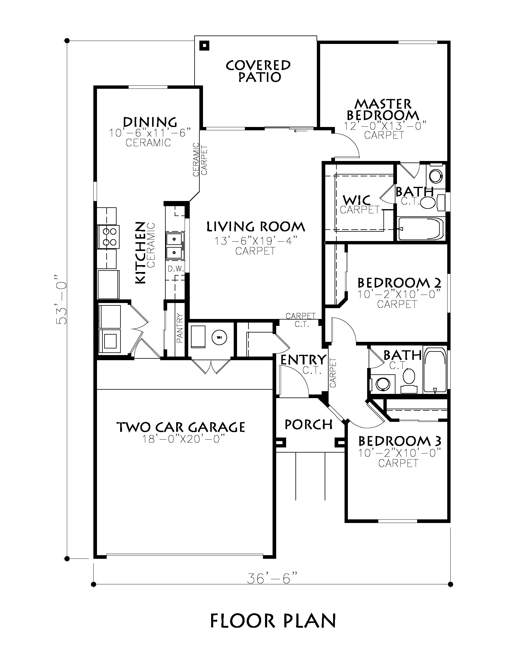 Classic american homes floor plans why our alki floor for Classic american el paso