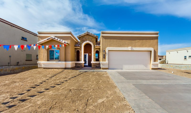 Plan r0243 classic american homes builders in el paso for Classic american el paso