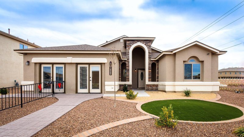 Plan r0243 classic american homes builders in el paso for Classic american homes el paso tx