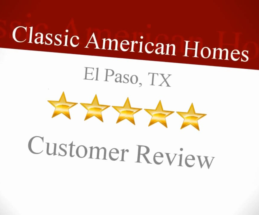 Classic American Homes Five Star Review